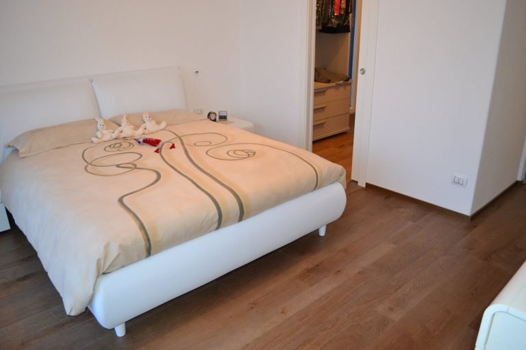 Pavimento in legno in abitazione privata a Livigno