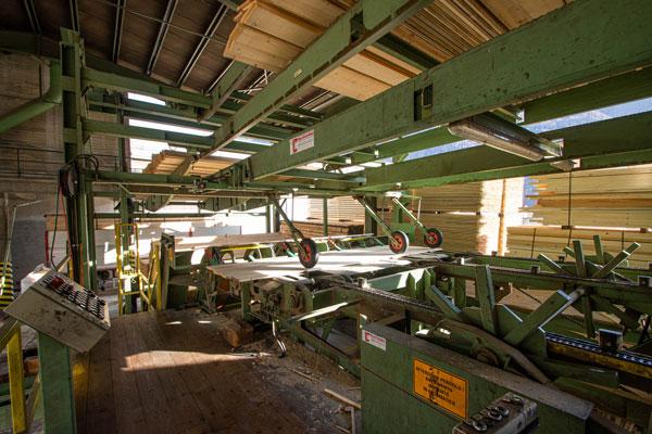 confezionamento del legno